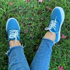 Blue Women Sneakers